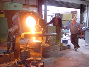 Non Ferrous Casting Foundry From Brass Fittings India